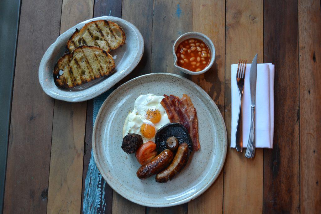 Full English Breakfast in Cheltenham